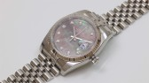 Rolex Datejust Black mother of pearl
