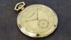 IWC large pocket watch Breguet numerals