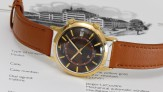 Jaeger-LeCoultre Memovox Brown Scale dial