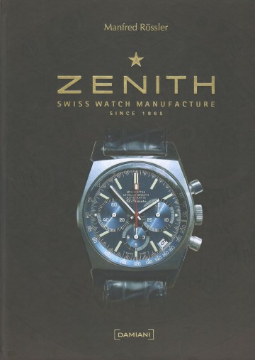 "Ref. A3818 was used as cover illustration for the book ""Zenith: Swiss Watch Manufacture Since 1865"", Manfred Rossler, ed.). with a beautiful blue dial, the watch was probably delivered only on leather straps."